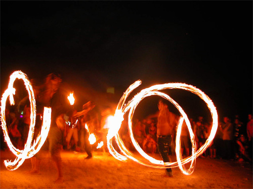 Full moon party on Koh Samui, Thailand
