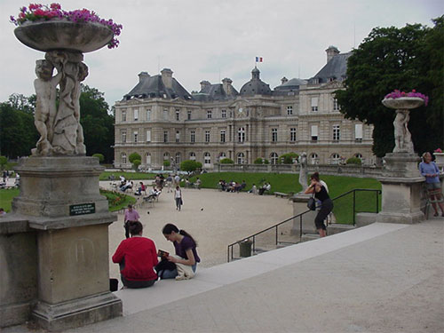 Luxembourg Garden in Paris, France