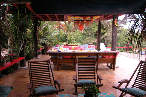 Another view of Robin's office in Buzios, Brazil (by the way, at $500 per month)