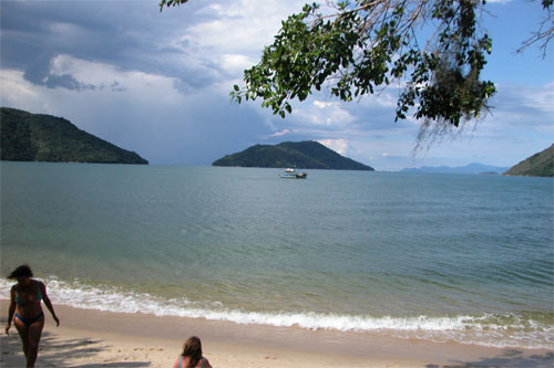 Minna Beach near Parati, Brazil