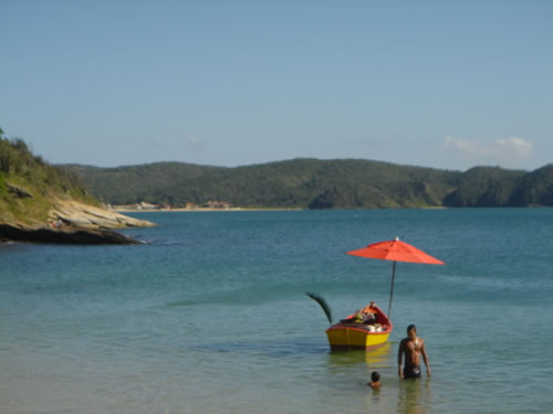 Floating Beachbar; Ossos Beach; Buzios, Brazil