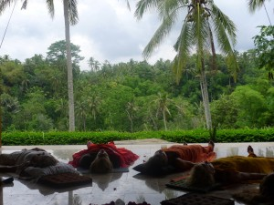 Breath meditation in Ubud, Bali